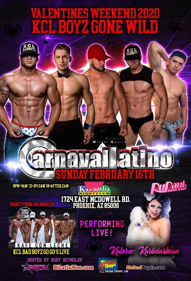 Carnaval Latino - BiLatinMen.com
