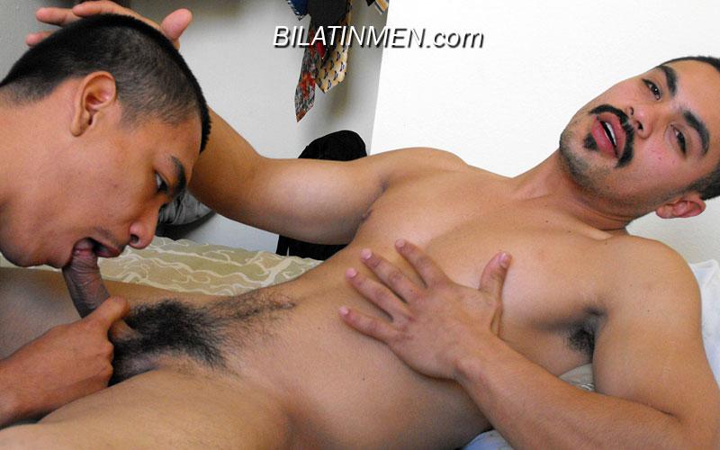 Latino nude gay men kissing
