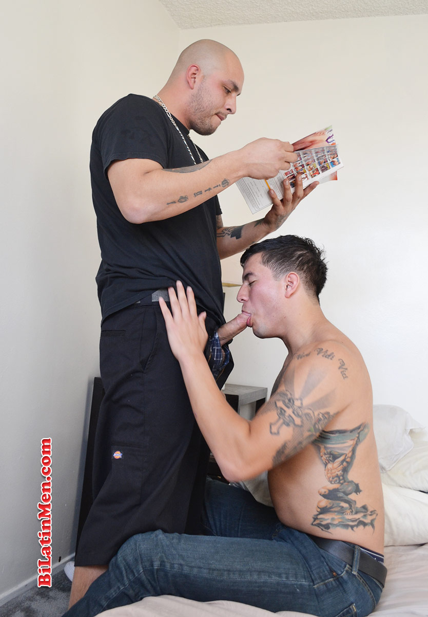 Men cock latin bi sucking